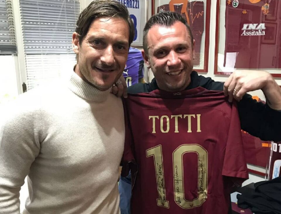 Cassano Said on the Film about Totti