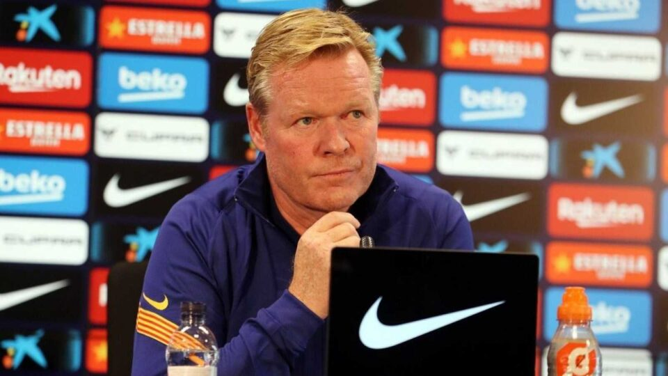 Koeman Is Opposed to a Deal for Agüero