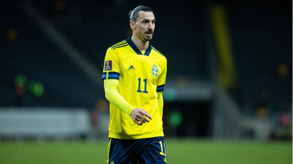 Ibra Is the Oldest Swede Player at 39
