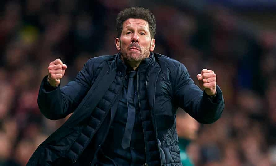 Simeone Believes the Current Top-four Are Good for Spanish Football