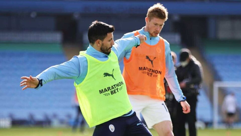 De Bruyne and Aguero May Return for EFL Cup