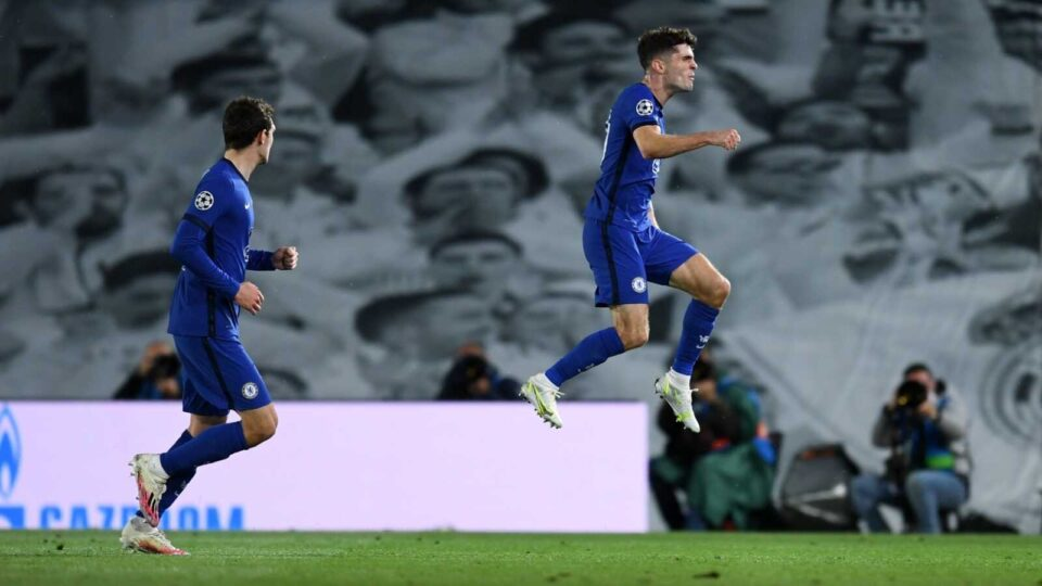Pulisic Is the First American Man to Score in a Champions League Semi-final