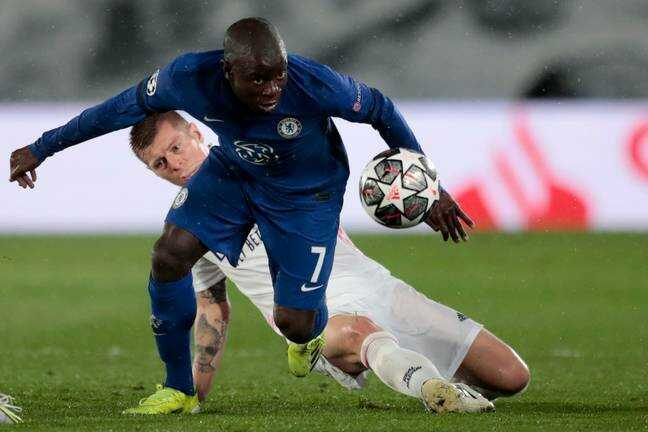 Kante Is Champions League Player of the Week