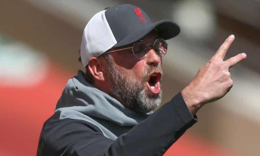 Klopp Says Liverpool Are Undeserving of Champions League