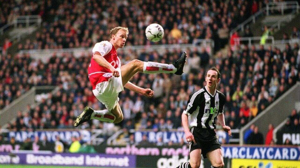 Dennis Bergkamp Inducted into the Premier League Hall of Fame