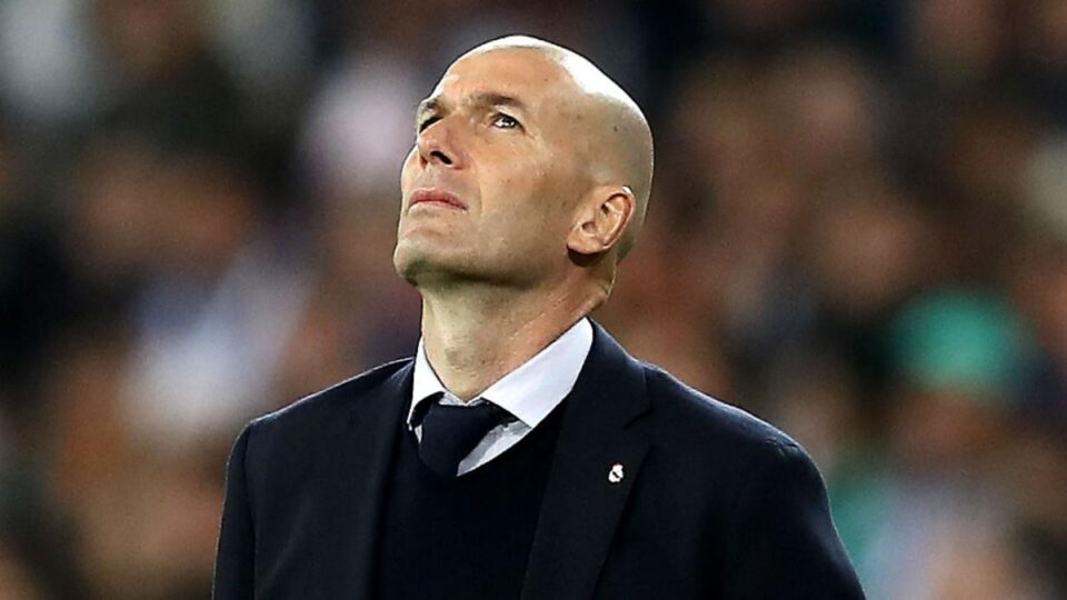 Zidane Is Uncertain about His Real Madrid Future