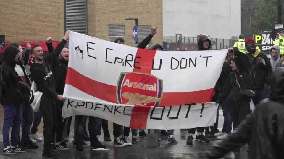 Arteta Defended Arsenal Owners after Fans Protested Again