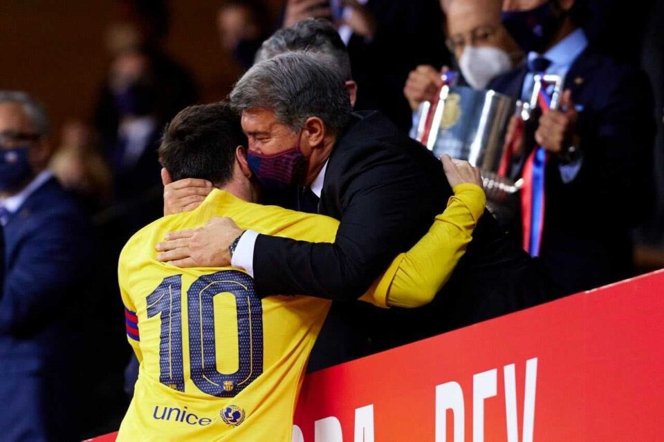 Laporta on Messi: The Relationship Is Good