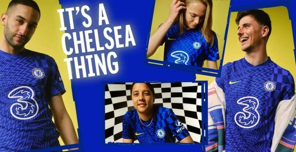 Chelsea 2021-22 Kit Is Out