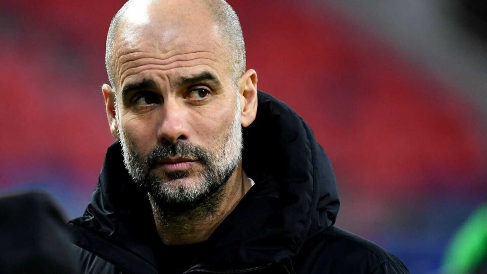 Guardiola is the England Coach of the Year