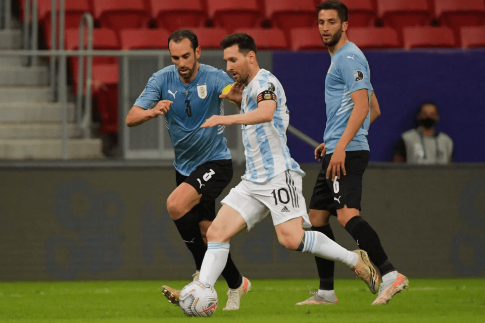 Lionel Messi Assisted in Argentina's 1-0 Win over Uruguay