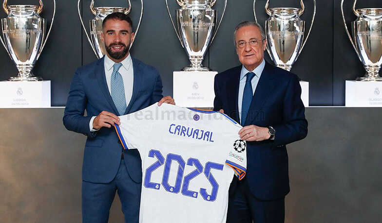 Carvajal Has Signed a Real Madrid Contract Extension